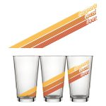 SLB Retro Pint Glass