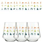 Namaste For A Drink Stemless Wine Glass