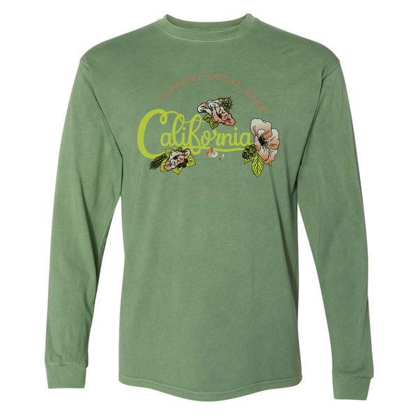 Long Sleeve Cali Botanical Tee
